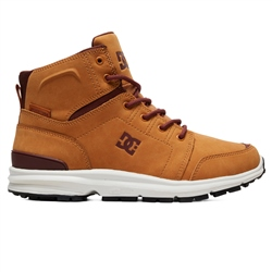 DC Shoes Torstein Leather Winter Boots - Wheat
