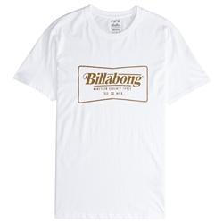 Billabong Trade Mark T-Shirt - White