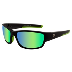 Dirty Dog Chain Sunglasses  - Black & Green