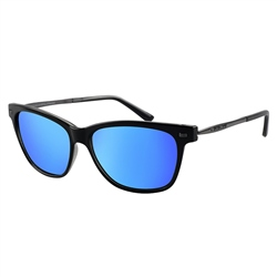 Dirty Dog Jackal Polarised Sunglasses - Black & Grey