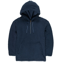 Element Big Shearling Hoody - Eclipse Navy