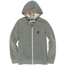 Element Heavy Zipped Hoody - Forest