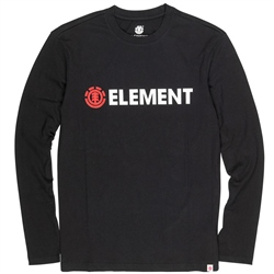 Element Blazin T-Shirt - Flint Black