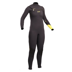 Gul Response FX Junior 3mm Chest Zip Wetsuit - Black & Lime (2020)