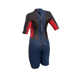 Gul Response 3/2mm Junior FL Shorty Wetsuit - Blue & Graphite (2019)
