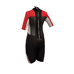 Gul Response 3/2mm Junior Shorty Wetsuit - Black & Red (2019)