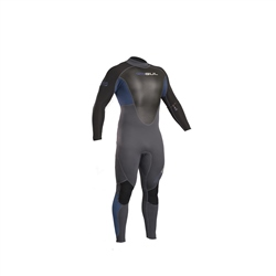 Gul Response 3/2mm Back Zip Wetsuit - Blue Graphite (2019)