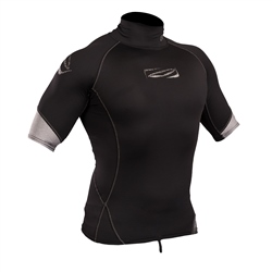 Gul Mens Xola Rash Vest - Black