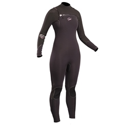 Gul Viper Ladies 3/2mm Chest Zip Wetsuit - Black (2020)
