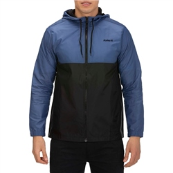 Hurley Siege Windbreaker Jacket - Mystic Navy