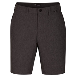 Hurley Phantom Dri-Fit Chino Walkshorts - Black Heather