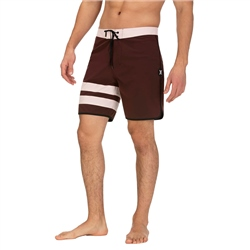 Hurley Phantom Block Party Boardshorts - Mahogany