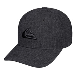 Quiksilver Decades Plus Cap - Charcoal Heather