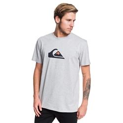 Quiksilver Comp Logo T-Shirt - Athletic Heather