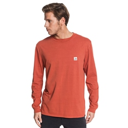 Quiksilver In The Middle T-Shirt - Burnt Brick