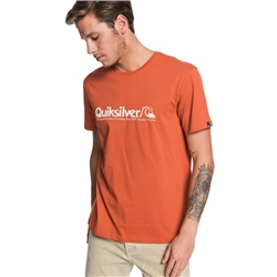 Quiksilver Modern Legends T-Shirt - Burnt Brick