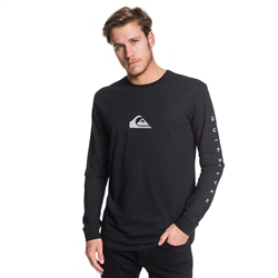 Quiksilver Night Tract T-Shirt - Black