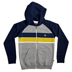 Quiksilver Everyday Screen Zipped Hoody - Navy Blazer