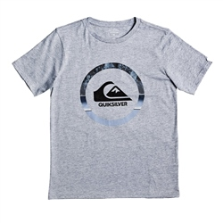 Quiksilver Boys Snake Dreams T-Shirt - Athletic Heather