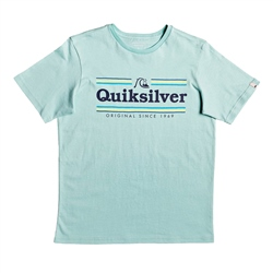 Quiksilver Buzzy T-Shirt - Pastel Turquoise