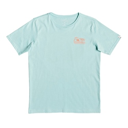 Quiksilver Daily Wax T-Shirt - Pastel Turquoise
