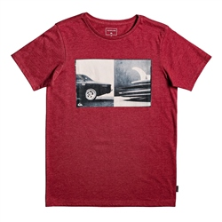 Quiksilver High T-Shirt - Garnet Heather