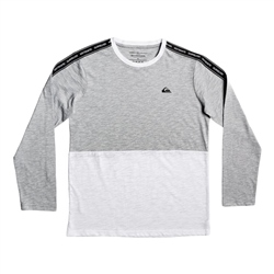 Quiksilver Mindil T-Shirt - Light Grey Heather