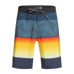 "Quiksilver Highline Slab 20"" Boardshorts - Crystal Teal"