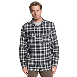 Quiksilver Snap Down Shirt - Black Snapup