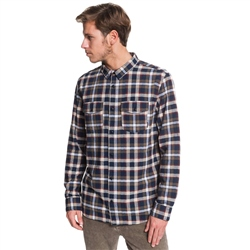 Quiksilver Snap Down Shirt - Sky Captain
