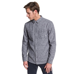 Quiksilver Wollemi Shirt - Medium Grey Heather