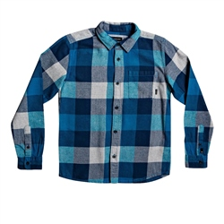 Quiksilver Motherfly Shirt - Crystal Teal