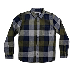 Quiksilver Motherfly Shirt - Deep Depths