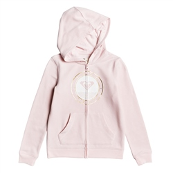 Roxy Good Side Zipped Hoody - Pink Dogwood