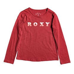 Roxy Bananas Party T-Shirt - Deep Claret