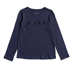 Roxy Bananas Party T-Shirt - Mood Indigo