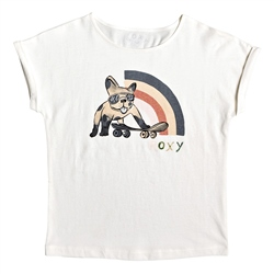 Roxy Boyfriend T-Shirt - Snow White
