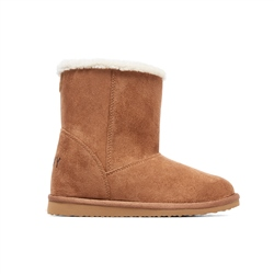 Roxy Molly Boots - Tan & Brown