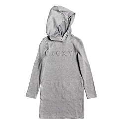 Roxy From The Top Hooded Dress - Heritage Heather