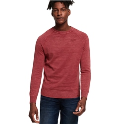 Superdry Dyed La Sweatshirt - Red