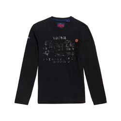 Superdry Prem Goods T-Shirt - Black