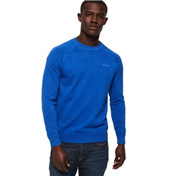 Superdry Dyed La Jumper - Cobalt