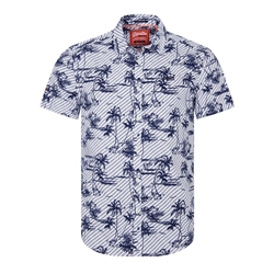 Superdry International Vacation Shirt - White