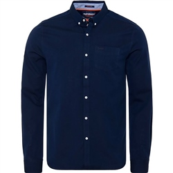 Superdry Premium University Shirt - Indigo