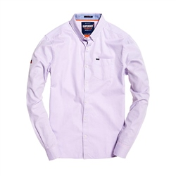 Superdry Premium University Shirt - Lavender