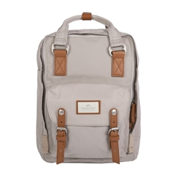 Doughnut Macaroon Backpack - Ivory