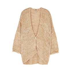 Free People Home Town Cardigan - Woods Combo