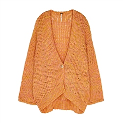 Free People Home Town Cardigan - Sugar Candy Combo