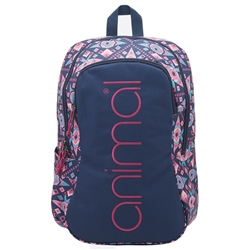 Animal Bright Backpack 20L - Blue & Purple
