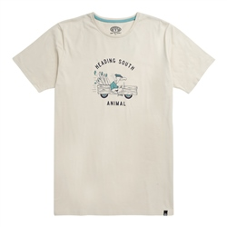 Animal Migrate T-Shirt - Putty Grey